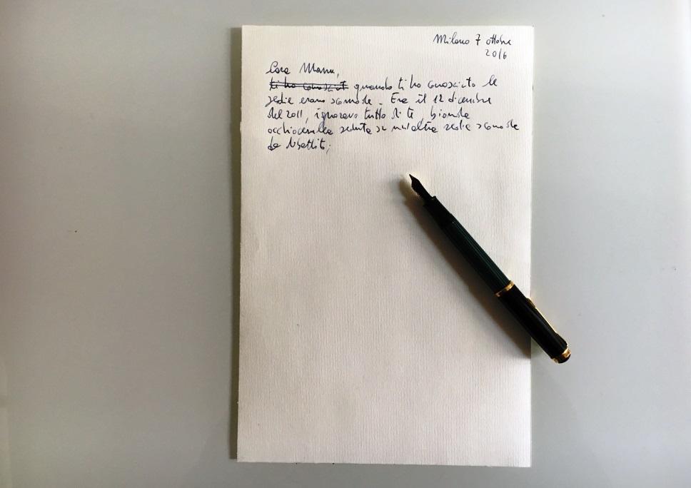 Scrivendo una lettera d'amore e di lotta a Manuela