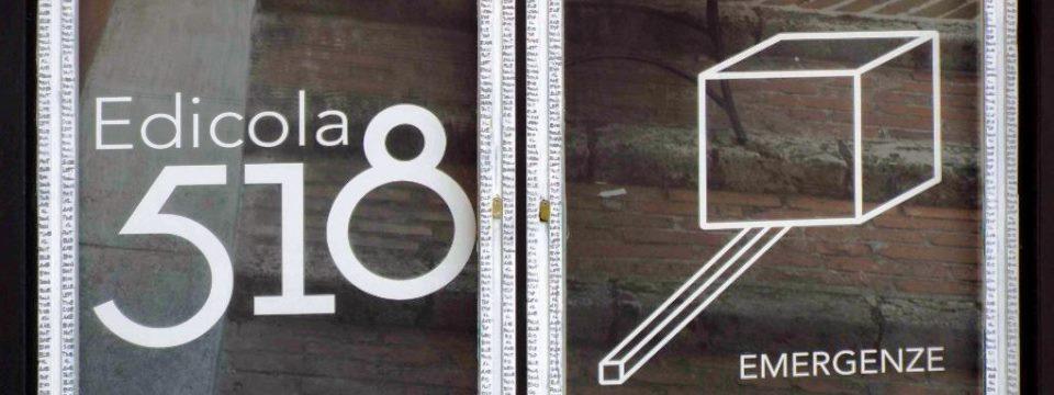 I nostri quattro metri di spazio infinito (edicola e storia)